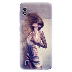 Odolné silikonové pouzdro iSaprio - Girl 01 - Samsung Galaxy A10