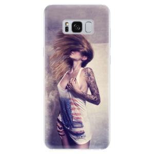 Odolné silikonové pouzdro iSaprio - Girl 01 - Samsung Galaxy S8