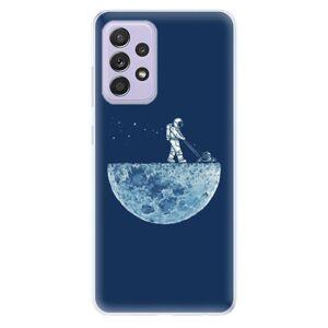 Odolné silikonové pouzdro iSaprio - Moon 01 - Samsung Galaxy A52/A52 5G