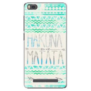 Plastové pouzdro iSaprio - Hakuna Matata Green - Xiaomi Mi4C