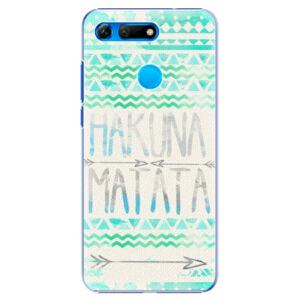 Plastové pouzdro iSaprio - Hakuna Matata Green - Huawei Honor View 20