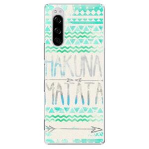 Plastové pouzdro iSaprio - Hakuna Matata Green - Sony Xperia 5