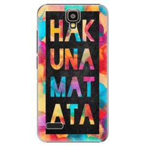 Plastové pouzdro iSaprio - Hakuna Matata 01 - Huawei Ascend Y5