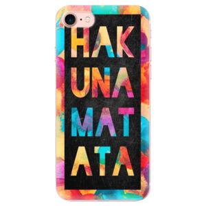 Odolné silikonové pouzdro iSaprio - Hakuna Matata 01 - iPhone 7