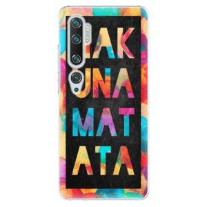 Plastové pouzdro iSaprio - Hakuna Matata 01 - Xiaomi Mi Note 10 / Note 10 Pro