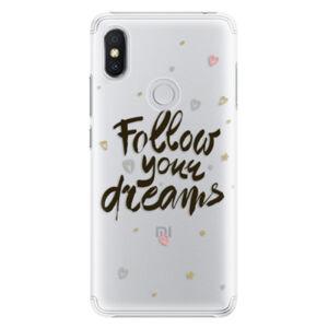 Plastové pouzdro iSaprio - Follow Your Dreams - black - Xiaomi Redmi S2