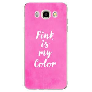 Odolné silikonové pouzdro iSaprio - Pink is my color - Samsung Galaxy J5 2016
