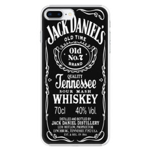 Plastové pouzdro iSaprio - Jack Daniels - iPhone 8 Plus