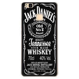 Odolné silikonové pouzdro iSaprio - Jack Daniels - Huawei Ascend P9 Lite