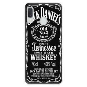 Odolné silikonové pouzdro iSaprio - Jack Daniels - Samsung Galaxy A20e