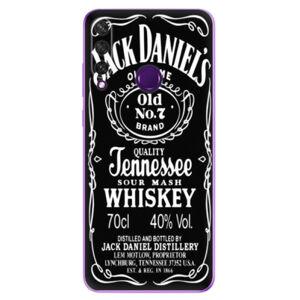 Odolné silikonové pouzdro iSaprio - Jack Daniels - Huawei Y6p