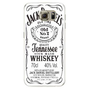 Silikonové pouzdro iSaprio - Jack White - Samsung Galaxy S6
