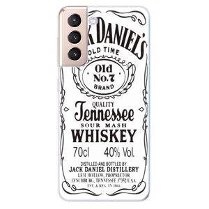 Odolné silikonové pouzdro iSaprio - Jack White - Samsung Galaxy S21