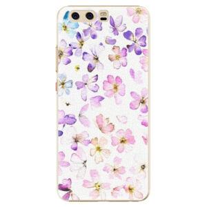 Plastové pouzdro iSaprio - Wildflowers - Huawei P10