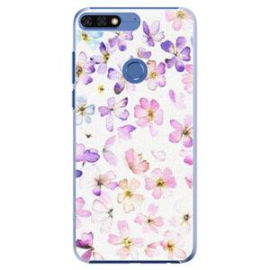 Plastové pouzdro iSaprio - Wildflowers - Huawei Honor 7C