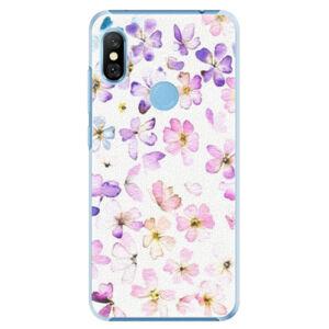 Plastové pouzdro iSaprio - Wildflowers - Xiaomi Redmi Note 6 Pro