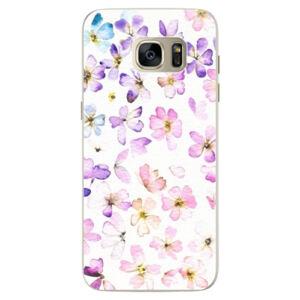 Silikonové pouzdro iSaprio - Wildflowers - Samsung Galaxy S7 Edge