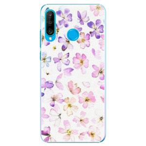 Plastové pouzdro iSaprio - Wildflowers - Huawei P30 Lite