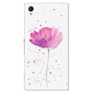 Plastové pouzdro iSaprio - Poppies - Sony Xperia Z1