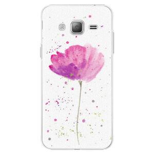 Plastové pouzdro iSaprio - Poppies - Samsung Galaxy J3