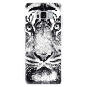 Odolné silikonové pouzdro iSaprio - Tiger Face - Samsung Galaxy S8