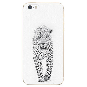 Plastové pouzdro iSaprio - White Jaguar - iPhone 5/5S/SE