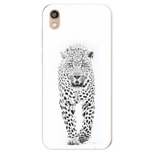 Odolné silikonové pouzdro iSaprio - White Jaguar - Huawei Honor 8S