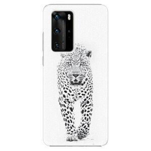 Plastové pouzdro iSaprio - White Jaguar - Huawei P40 Pro