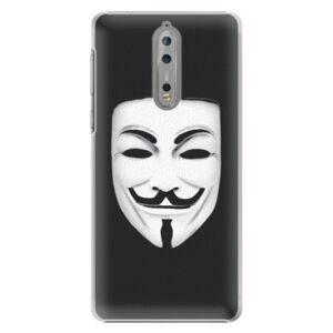 Plastové pouzdro iSaprio - Vendeta - Nokia 8