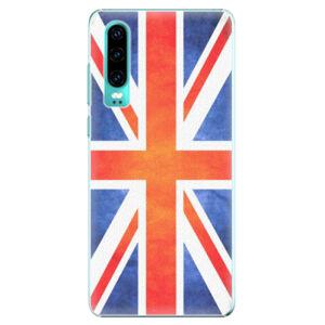 Plastové pouzdro iSaprio - UK Flag - Huawei P30