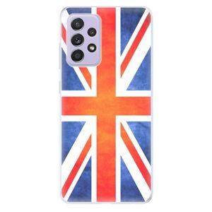Odolné silikonové pouzdro iSaprio - UK Flag - Samsung Galaxy A52/A52 5G