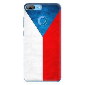 Odolné silikonové pouzdro iSaprio - Czech Flag - Huawei Honor 9 Lite