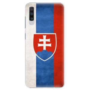 Plastové pouzdro iSaprio - Slovakia Flag - Samsung Galaxy A70