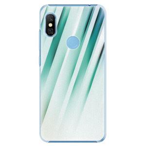 Plastové pouzdro iSaprio - Stripes of Glass - Xiaomi Redmi Note 6 Pro