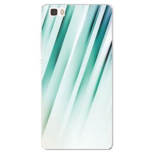 Silikonové pouzdro iSaprio - Stripes of Glass - Huawei Ascend P8 Lite