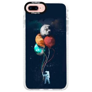 Silikonové pouzdro Bumper iSaprio - Balloons 02 - iPhone 7 Plus