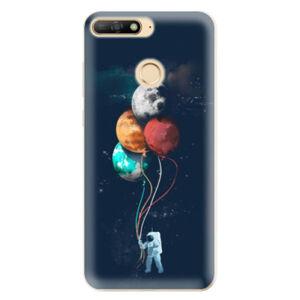 Odolné silikonové pouzdro iSaprio - Balloons 02 - Huawei Y6 Prime 2018