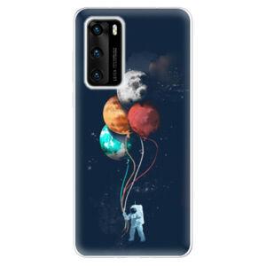 Odolné silikonové pouzdro iSaprio - Balloons 02 - Huawei P40