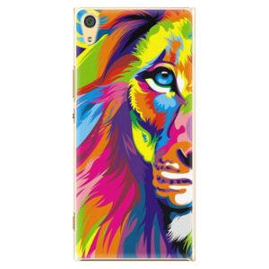 Plastové pouzdro iSaprio - Rainbow Lion - Sony Xperia XA1 Ultra