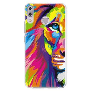 Plastové pouzdro iSaprio - Rainbow Lion - Asus ZenFone 5Z ZS620KL