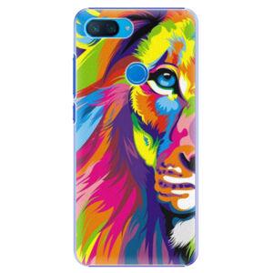Plastové pouzdro iSaprio - Rainbow Lion - Xiaomi Mi 8 Lite