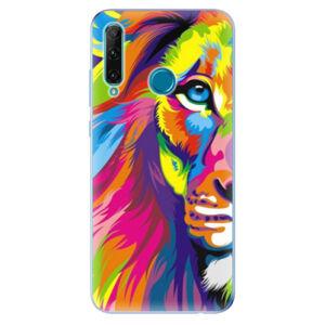 Odolné silikonové pouzdro iSaprio - Rainbow Lion - Honor 20e