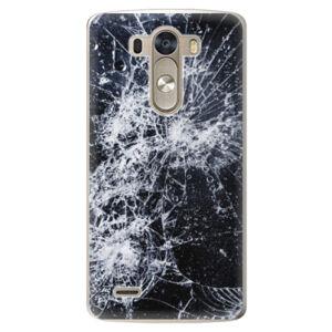 Plastové pouzdro iSaprio - Cracked - LG G3 (D855)