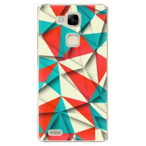 Plastové pouzdro iSaprio - Origami Triangles - Huawei Ascend Mate7