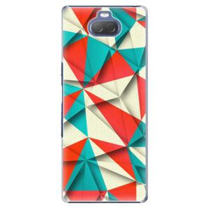 Plastové pouzdro iSaprio - Origami Triangles - Sony Xperia 10 Plus