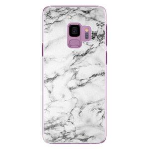 Plastové pouzdro iSaprio - White Marble 01 - Samsung Galaxy S9