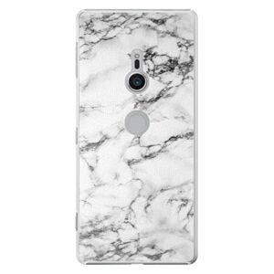 Plastové pouzdro iSaprio - White Marble 01 - Sony Xperia XZ2