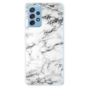 Odolné silikonové pouzdro iSaprio - White Marble 01 - Samsung Galaxy A72