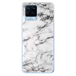 Odolné silikonové pouzdro iSaprio - White Marble 01 - Realme 8 / 8 Pro