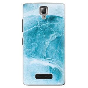 Plastové pouzdro iSaprio - Blue Marble - Lenovo A2010
